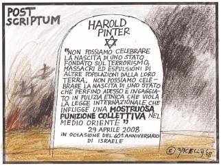 post scriptum Harold Pinter