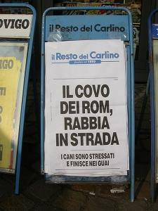 il covo dei rom - carlino rovigo