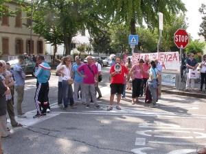 loris vanzan manifestazione rifugiati battaglia terme
