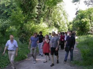 partecipanti visita guidata manicomio di rovigo con paolo avezzù