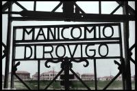 cancello manicomio di rovigo anni trenta