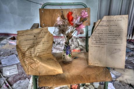 Manicomio fot. di Rovigo - Denuncia di morte